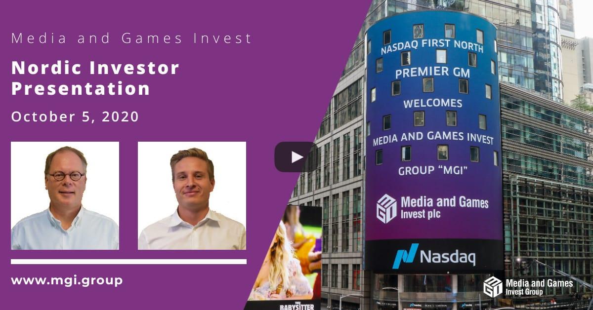 Video: Nordic Investor Presentation