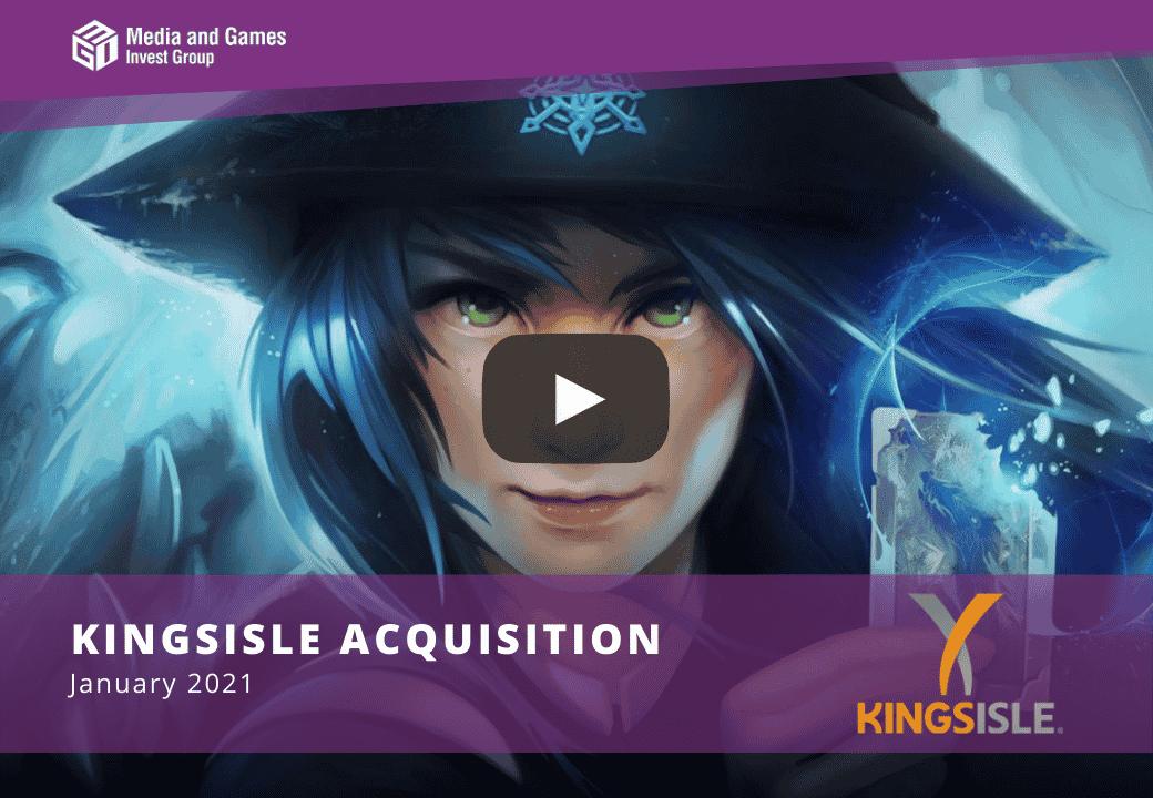 Video: KingsIsle Acquisition